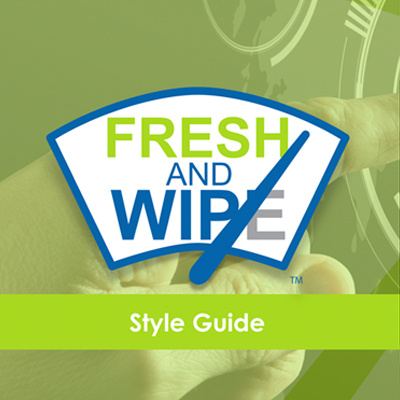 Fresh and Wipes Style Guide Brand Identity